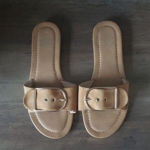Camel Buckle Slides